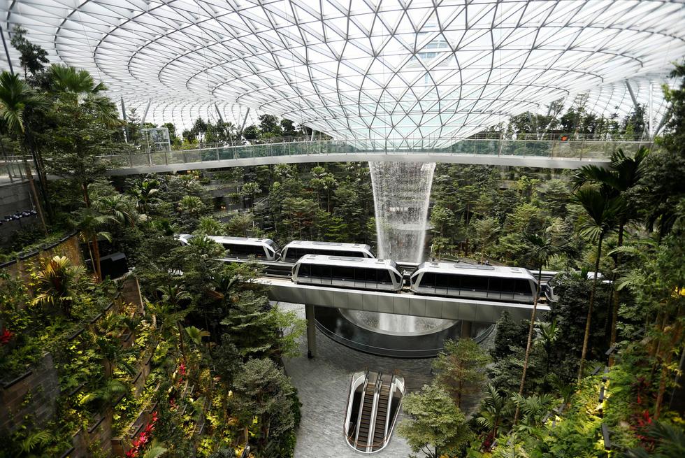 Jewel Changi, nhà ga sân bay mà đẹp mộng mị như thiên đường