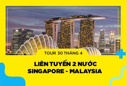 Liên Tuyến 2 Nước: Singapore - Malaysia 30/4, Garden By The Bay, Kualalumpur 4N3Đ