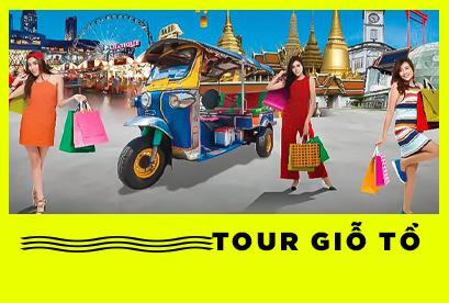 Thái Lan- Nanta show -Chợ Nổi 4 Miền, Đảo Kohlan, AIR ASIA FD 651 Giỗ Tổ