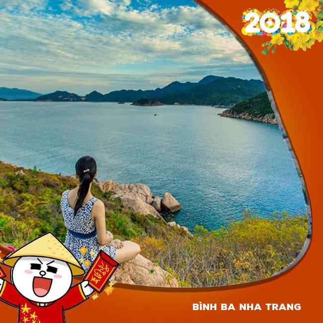 Tour Bình Ba, Nha Trang,Dốc Lết, Tiệc Hải Sản Tết Âm Lịch 2018 3N3Đ