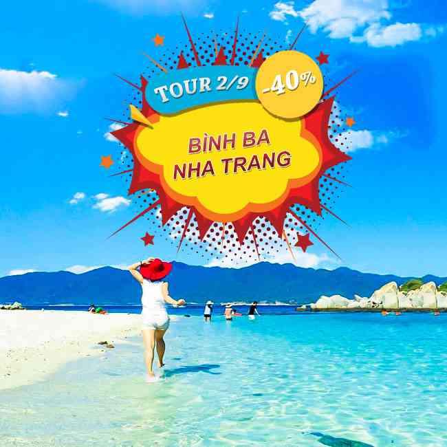 Tour Bình Ba Nha Trang, Lễ 2 Tháng 9 Thưởng ThứcTiệc Hải Sản 3N3Đ