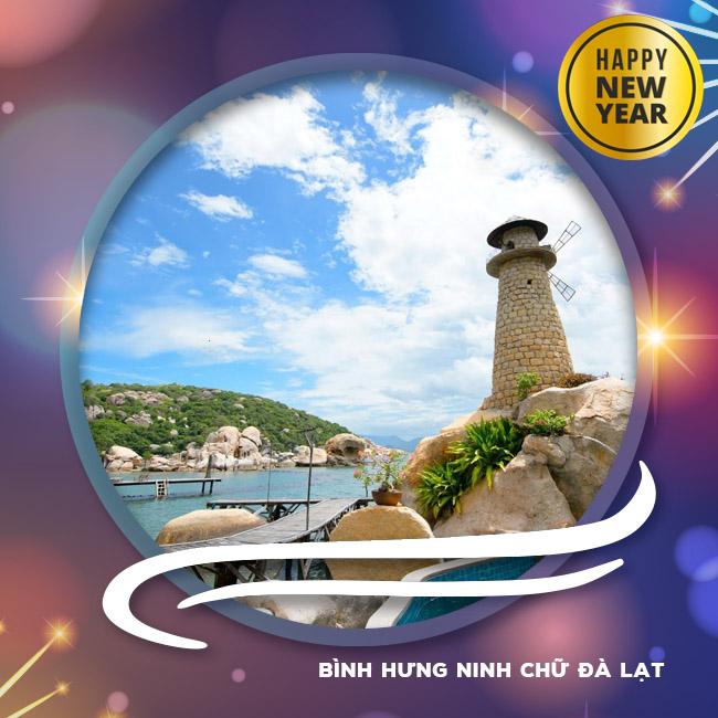 Tour Bình Hưng, Ninh Chữ, Đà Lạt Tết Tây 2018 4N4Đ