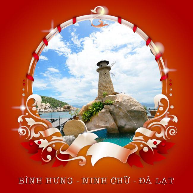 Tour Bình Hưng, Ninh Chữ, Đà Lạt Đón Giáng Sinh 4N4Đ