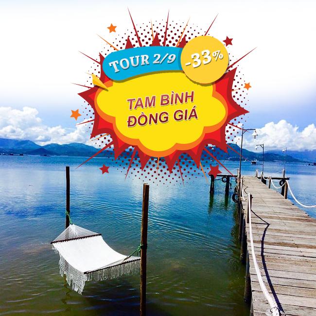 Tour Bình Lập - Bình Hưng - Binh Tiên đồng giá Lễ 2 Tháng 9 2N2Đ