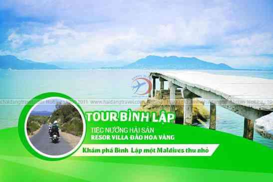 Tour Bình Lập - Bình Hưng Maldives thu nhỏ của Việt Nam 2N2Đ