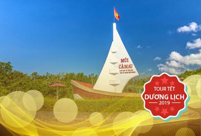 Tour Cà Mau Tết Dương Lịch, Bạc Liêu, Sóc Trăng, Cánh Đồng Quạt Gió