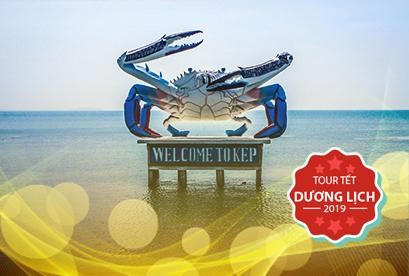 Tour Campuchia Sihanoukville Biển Kep Tết Dương Lịch, Kohrong Saloem, Kampot, Biển Kep, Phompenh