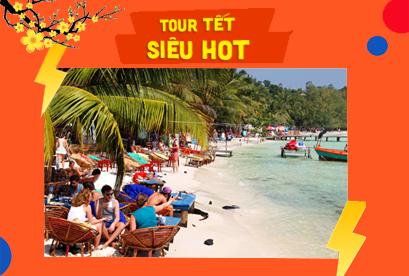 Tour Campuchia Sihanoukville Tết Âm Lịch, Thunsur Bokor Highland Resort 5, Phompenh, Nagaworld.