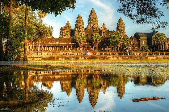 Tour Combodia, Siêm Riệp, Angkor Wat, Phnom Penh 4N3Đ