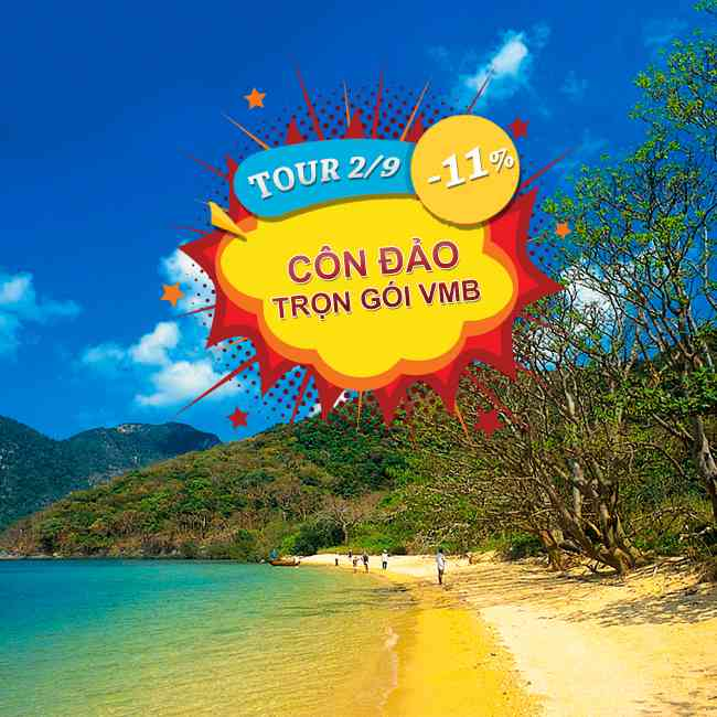 Tour Côn Đảo, Khám Phá Vùng Đất Thiêng, Lễ 2 tháng 9 Trọn Gói Vé Máy Bay 3N2Đ