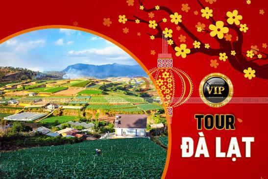 Tour Đà Lạt Vip: Lavender Du Thuyền Buffet Rau BBQ Cơm Lam Đường Hầm Đất Sét 3N3Đ