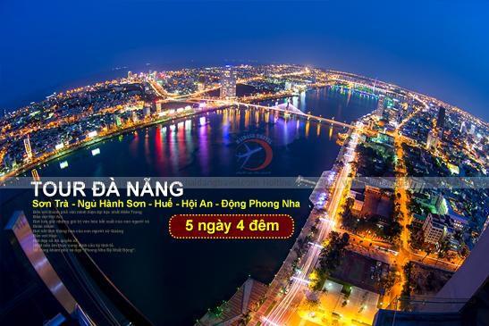 Tour Đà Nẵng - Sơn Trà - Ngũ Hành Sơn Hội An - Huế - Động Phong Nha 5N4Đ