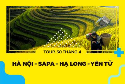 Tour Hà Nội 30/4 Sapa Hạ Long Yên Tử, Chinh phục đỉnh Fansipan