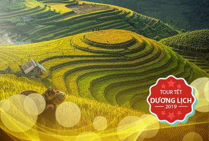 Tour Hà Nội Tết Dương Lịch Sapa Hạ Long Yên Tử, Chinh phục đỉnh Fansipan