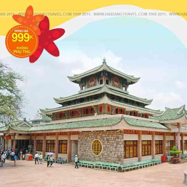 Tour Hà Tiên - Châu Đốc đồng giá 2N2Đ