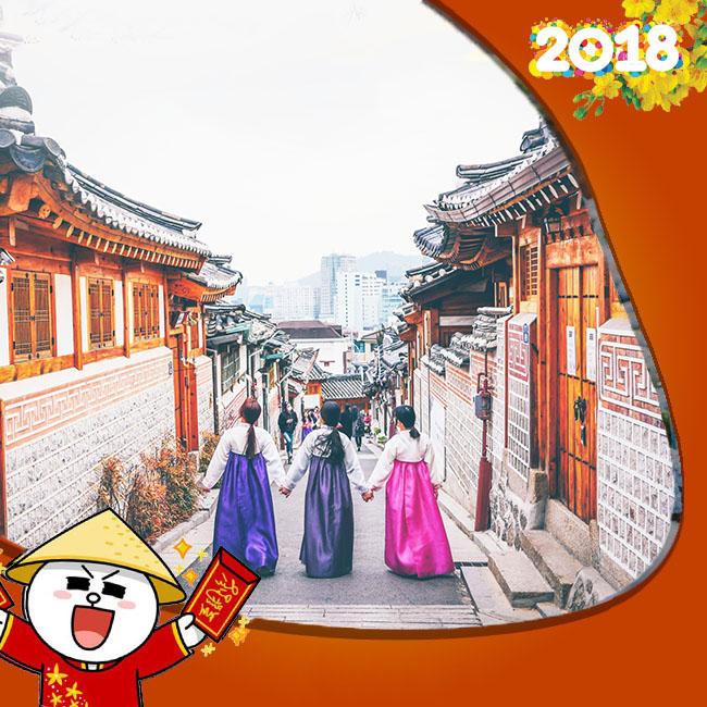 Tour Hàn Quốc Seoul – Đảo Jeju Tết Âm Lịch 5N5Đ
