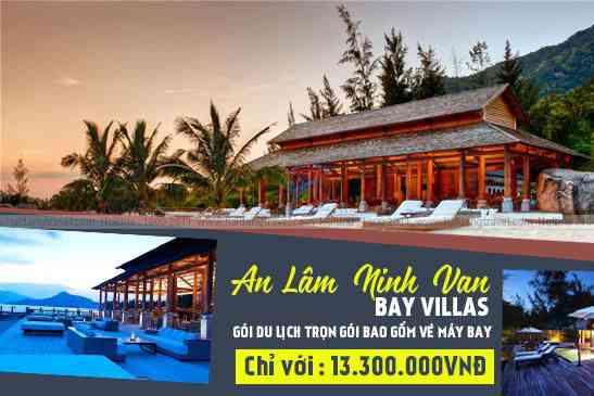 Tour Nghỉ Dưỡng, An Lâm Ninh Van Bay Lillas, Trọn gói Vé Máy Bay 2N2Đ
