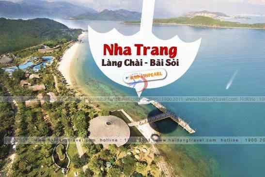 Tour Nha Trang Bãi Sỏi, Làng Chài, Hòn Tre Bao Vinpearlan 3N3Đ