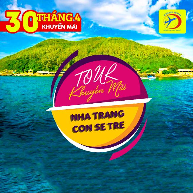 Tour Nha Trang Con Sẽ Tre 30/4 Siêu Tiết Kiệm 2N3Đ