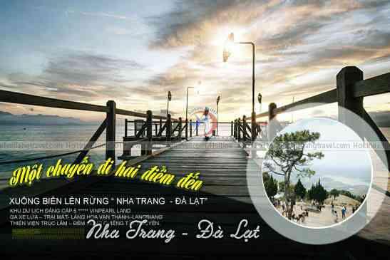 Tour Nha Trang, Đà Lạt Lên Rừng Xuống Biển 4N4Đ