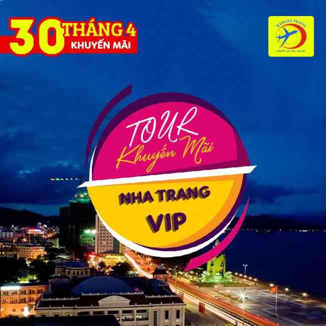 Tour Nha Trang VIP, 30/4 Thưởng Thức Buffet Hải Sản Trên 60 Món 3N3Đ