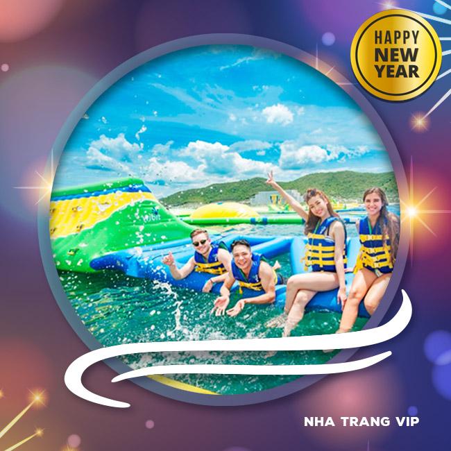 Tour Nha Trang VIP, Buffet Hải Sản Trên 60 Món Tết Tây 2018 3N3Đ