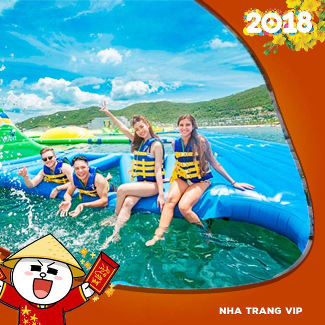 Tour Nha Trang VIP, Buffet Hải Sản Trên 60 Món Tết Âm Lịch 2018 3N3Đ
