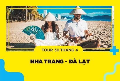 Tour Nha Trang Đà Lạt 30/4, biển bãi dài, Vườn Thú Zoodoo, rừng quốc gia bidoup