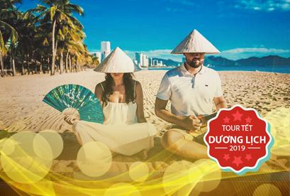 Tour Nha Trang Đà Lạt Tết Dương Lịch , biển bãi dài, rừng quốc gia bidoup