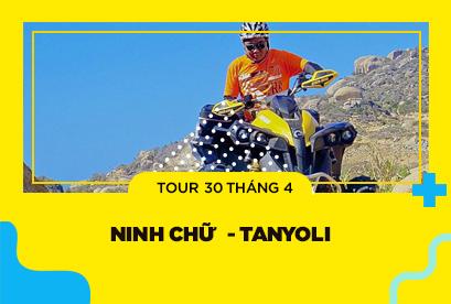 Tour Ninh Chữ 30/4 Tanyoli, Chinh Phục Mũi Dinh, Xe UTV, Đồng Cừu, Hang Rái