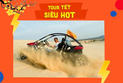 Tour Ninh Chữ Tết Âm Lịch, Tanyoli,  Chinh Phục Mũi Dinh, Xe UTV, Hang Rái