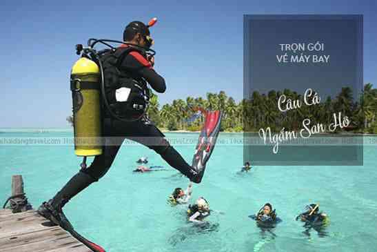 Tour Phú Quốc,Bao Vé Máy Bay Vinpearland, Câu Cá, Ngắm San Hô Nam Đảo 3N2Đ