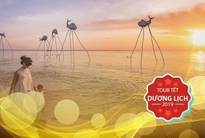 Tour Phú Quốc Tết Dương Lịch Khám Phá Sunset Sanato - bằng Xe Giường Nằm