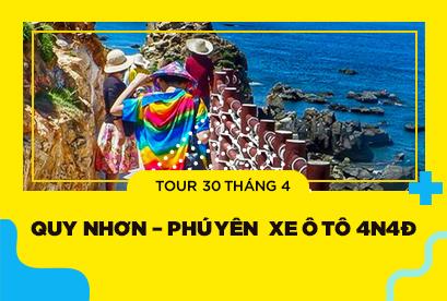Tour Quy Nhơn – Phú Yên 30/4 Một Chuyến Đi 2 Điểm Đến Hấp Dẫn Xe Ô Tô 4N4Đ