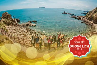 Tour Quy Nhơn Phú Yên Tết Dương Lịch, Khám Phá Eo Gió, Đảo Kỳ Co