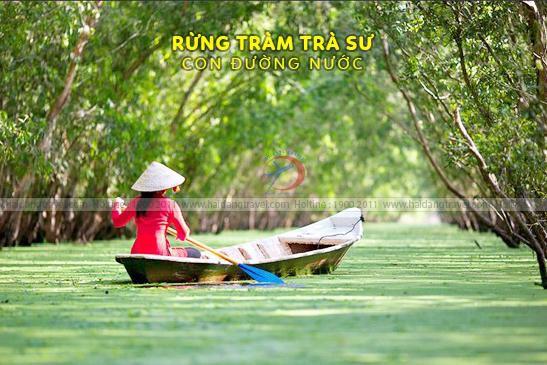 Tour Rừng Tràm Trà Sư, Châu Đốc 1N1Đ