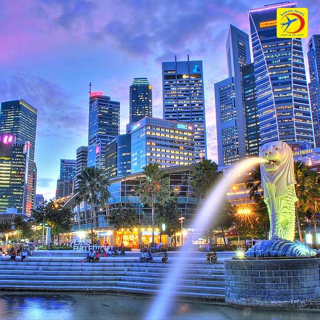 Tour Singapore, Công Viên Sư Tử Trắng, BBQ Hàn Quốc 3N2Đ