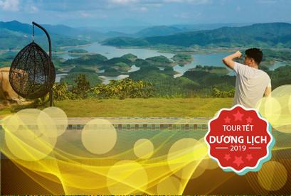 Tour Tà Đùng - Tuyệt Tác Tây Nguyên Buôn Mê Thuột Tiêu Chuẩn 5 Sao Tết Dương Lịch