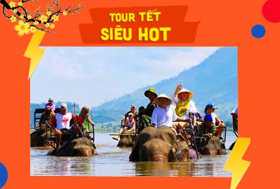 Tour Tà Đùng - Tuyệt Tác Tây Nguyên Buôn Mê Thuột Tiêu Chuẩn 5 Sao Tết Âm Lịch