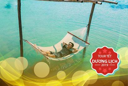 Tour Tam Bình 2 Tết Dương Lịch Biển Bình Lập, Đảo Bình Hưng, Biển Bình Tiên