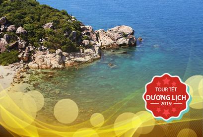 Tour Tam Bình Tết Dương Lịch, Đảo Bình Ba , Bình Hưng, Biển Bình Tiên, Ninh Chữ