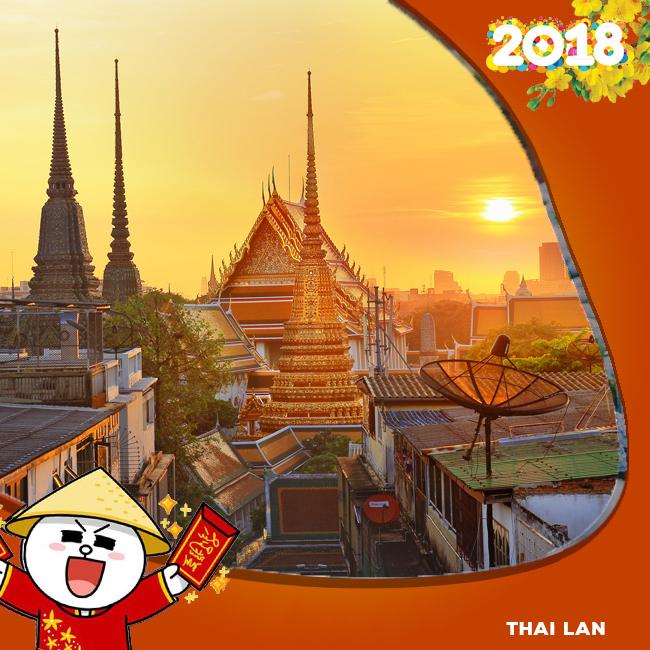 Tour Thái Lan Khuyến Mãi Tết Âm Lịch 2018