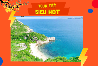 Tour Tứ Bình Tết Âm Lịch Bình Lập, Đảo Bình Ba, Đảo Bình Hưng, Biển Bình Tiên