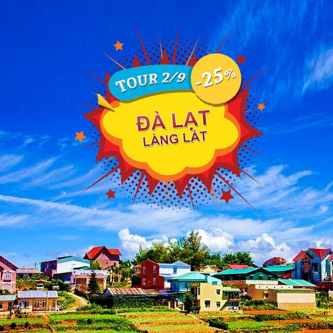 Tour Đà Lạt Làng Lát, Cơm Lam Thịt Rừng  Lễ 2 Tháng 9 3N3Đ