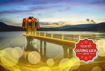 Tour Đà Lạt Tết Dương Lịch, Hồ Tuyền Lâm Vào Rừng Ngắm Lá Phong, Wonder Resort