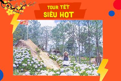 Tour Đà Lạt Tết Âm Lịch, BBQ Hàn Quốc, Hồ Tuyền Lâm, Nông Trại Vạn Thành
