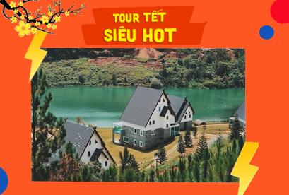 Tour Đà Lạt Tết Âm Lịch, Nghĩ Dưỡng Resort 4 Sao Đẳng Cấp Wonder Resort