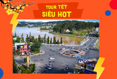 Tour Đà Lạt Tết Âm Lịch, Vườn Hoa Cẩm Tú Cầu, Đồi Chè Cầu Đất, Cổng Trời 3N2D