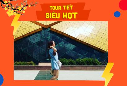 Tour Đà Lạt Tết Âm Lịch Đường Hầm Đât Sét, Ga Xe Lửa, Hoa Cẩm Tú Cầu 4N3D