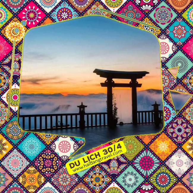 Tour Đà Lạt VIP 30/4, Cổng Trời, Du Thuyền Hồ Tuyền Lâm, Buffte không giới hạn 3N3Đ